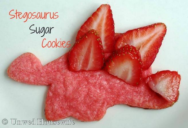 Stegosaurus Sugar Cookies