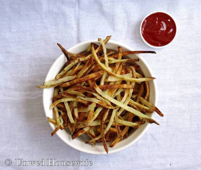 Baked French Fries 2
