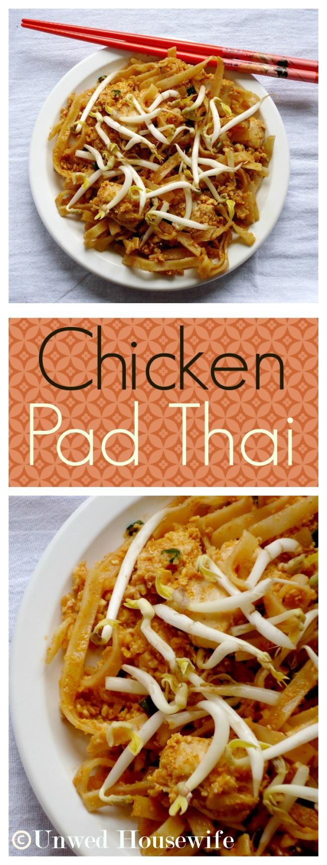 Chicken Pad Thai Pinterest