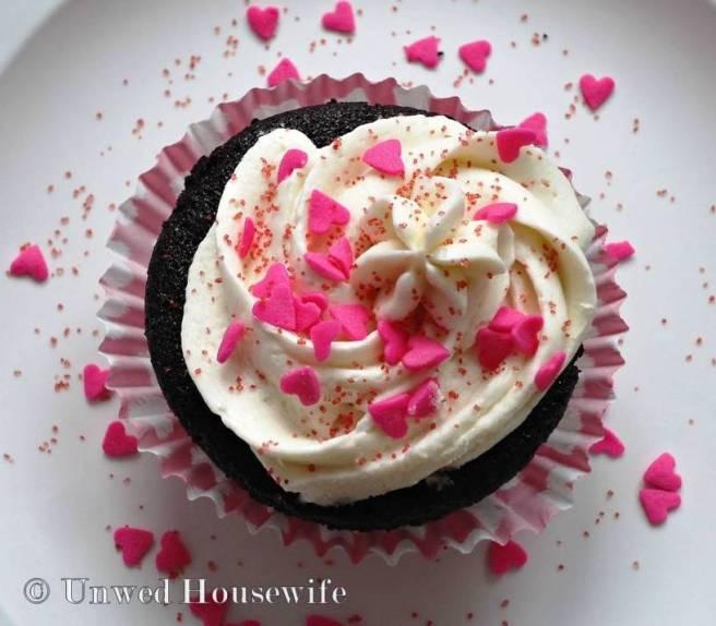 Chocolate Valentine Cupcakes 2