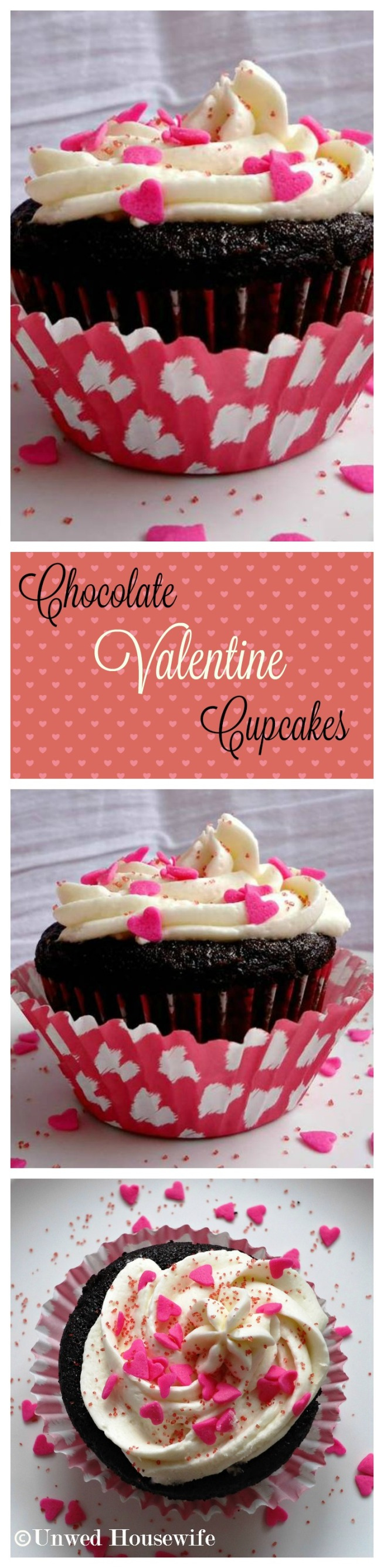 Chocolate Valentine Cupcakes Pinterest