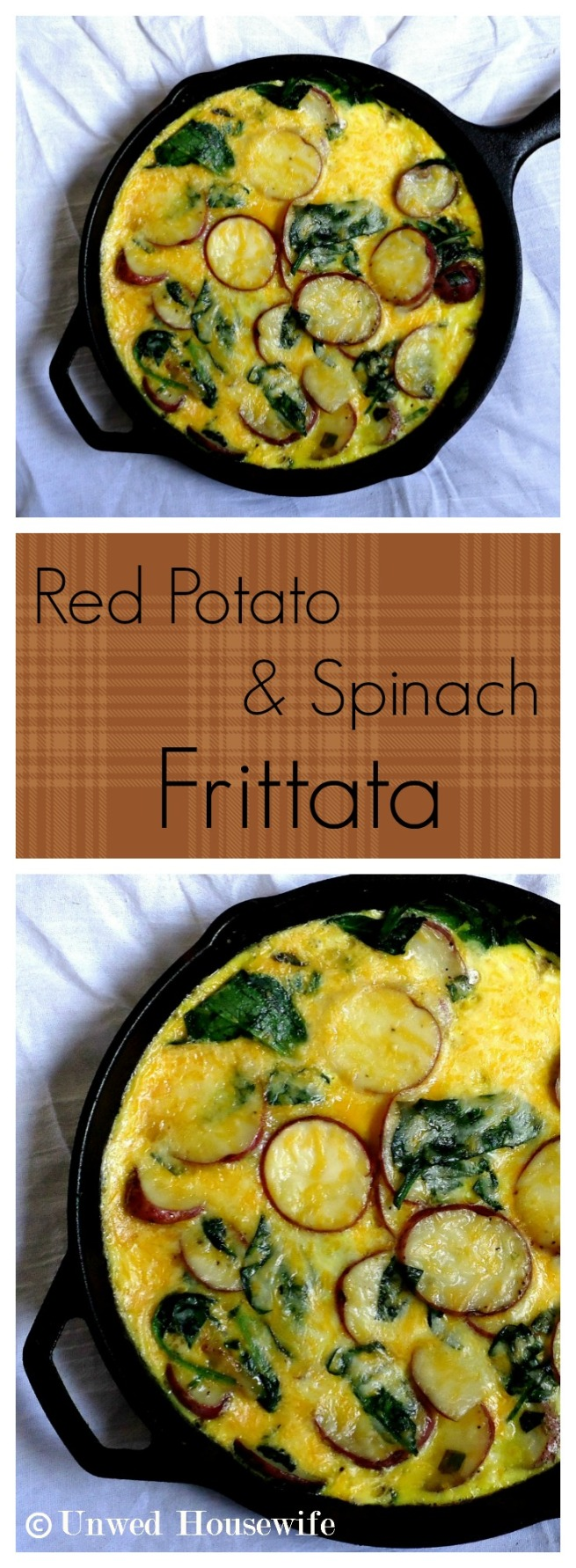 Red Potato and Spinach Frittata Pinterest