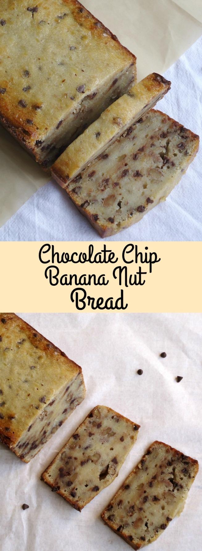 Chocolate Chip Banana Nut Bread Unwed Housewife