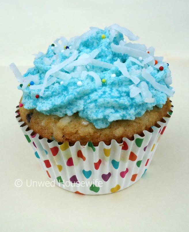 Coconut Funfetti Cupcakes