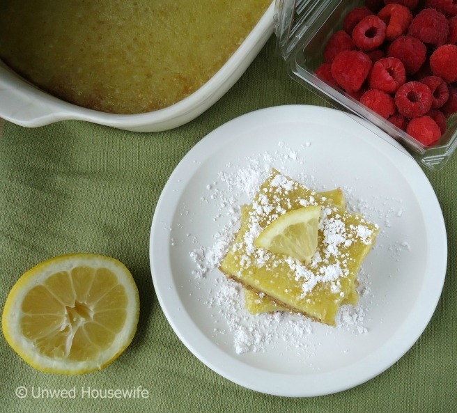 Lemon Bars - Unwed Housewife