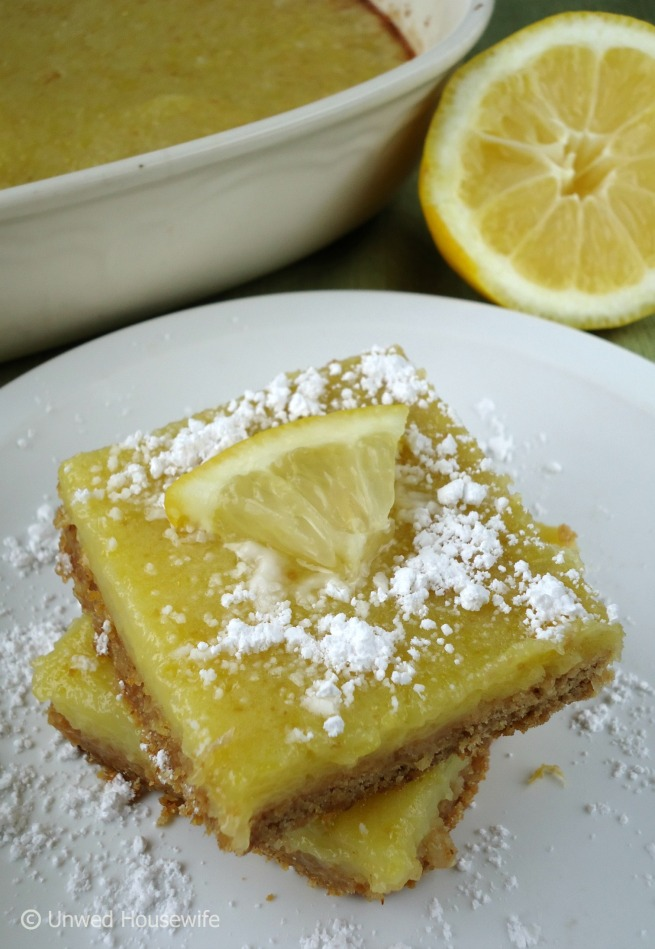 Lemon Bars --- Unwed Housewife