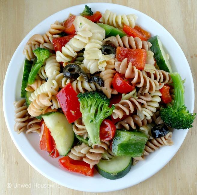 Veggie Lover's Pasta Salad 2