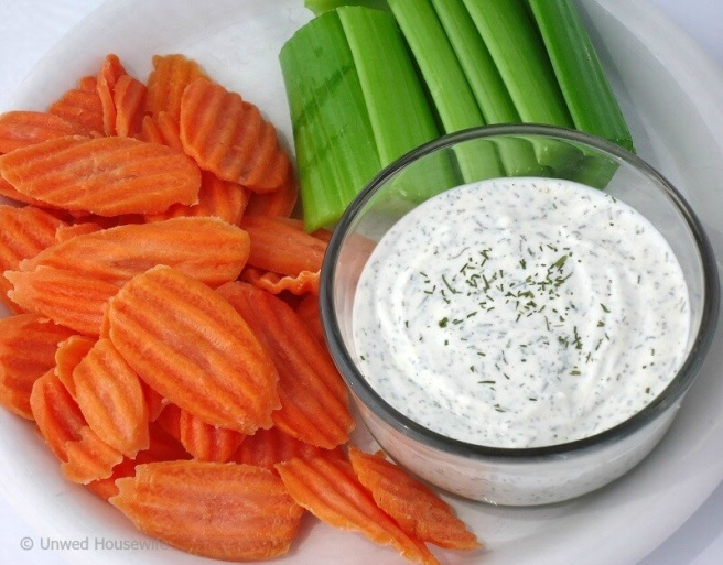 how to eat dill dip
