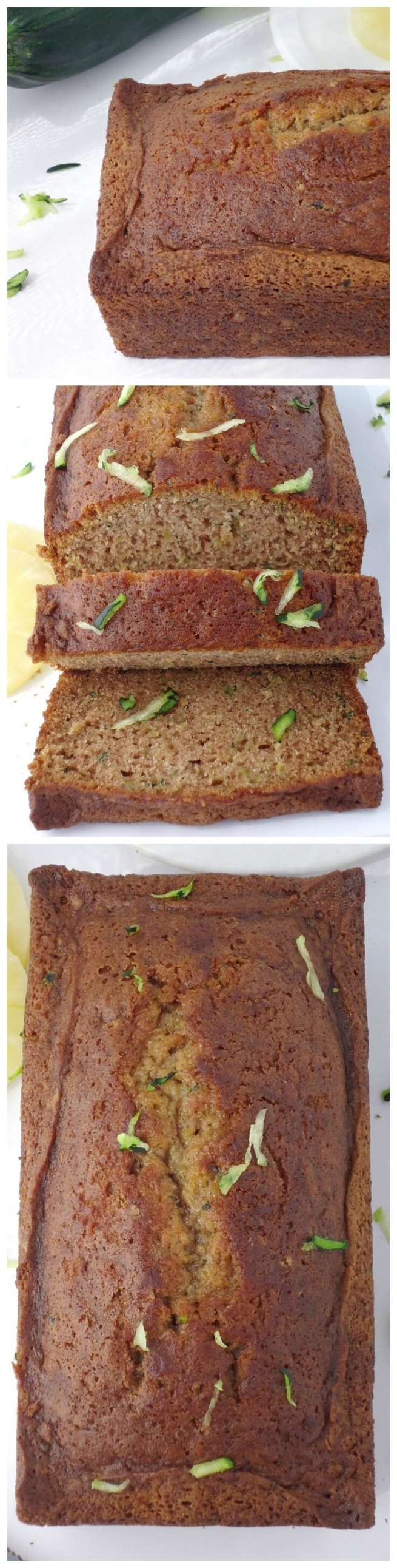 Zucchini Pineapple Bread | Unwed Housewife | Moist, dense zucchini pineapple bread that's perfect for summer. A fun, fruity twist on traditional zucchini bread. The best quick bread recipe for summer.
